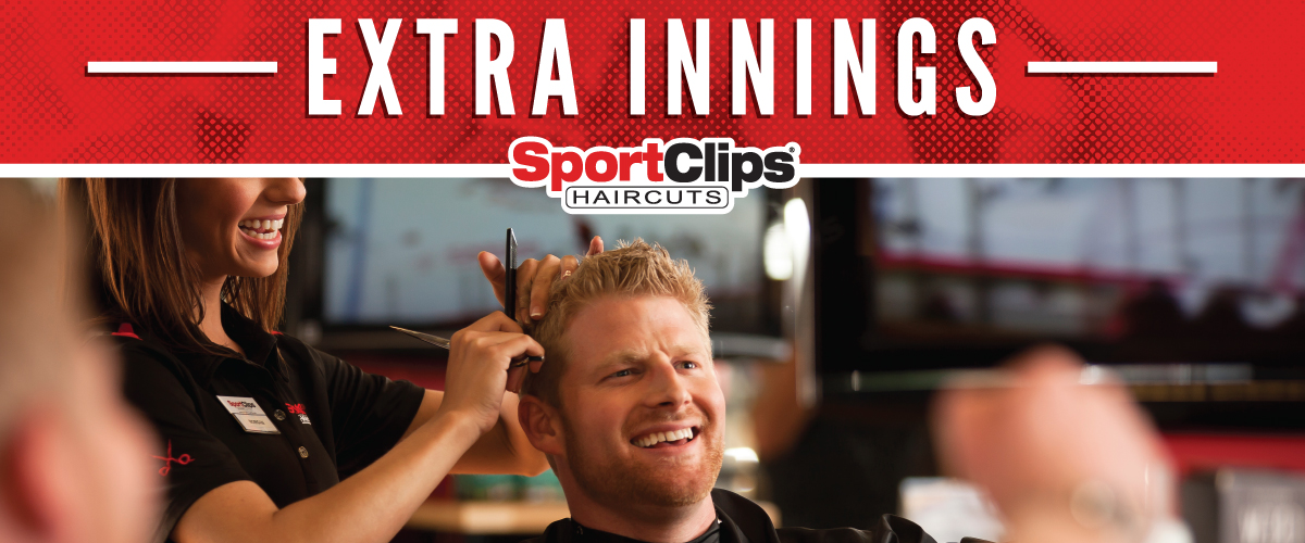 The Sport Clips Haircuts of Kennesaw Marketplace Extra Innings Offerings