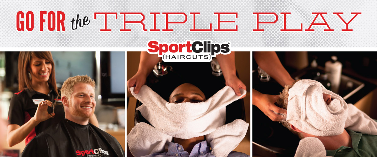 The Sport Clips Haircuts of Kennesaw Marketplace Triple Play